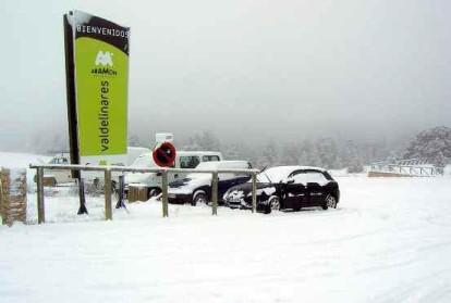 Primeras nieves, estación abierta y... a esquiar