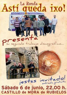 La Ronda Astí queda ixo! nos invita a la presentación de su segundo disco