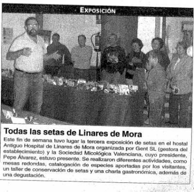 Todas las setas de Linares