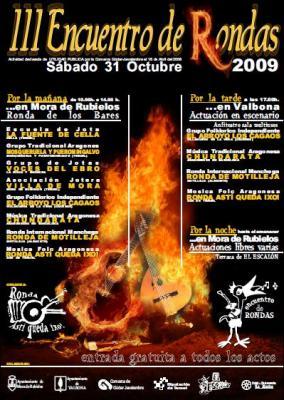 III Encuentro de Rondas, el sábado 31 en Mora y Valbona