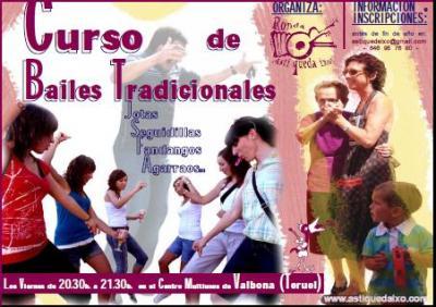 Curso de bailes tradicionales, por Asti queda ixo!